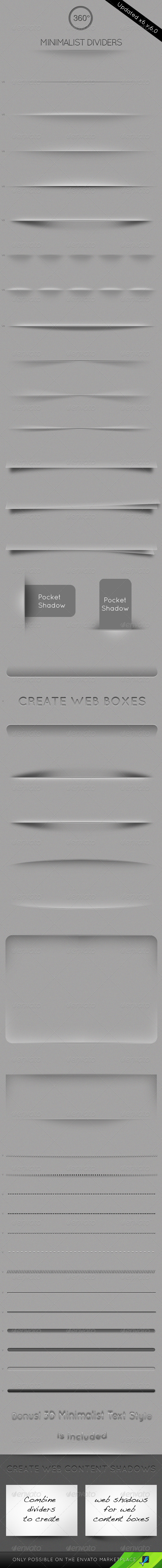 40 Minimalist Web Dividers – by 360Degrees