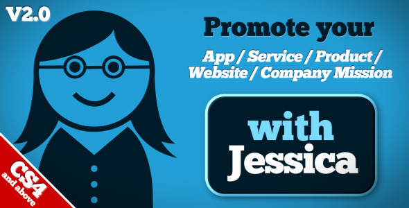 App / Service / Product Promotion – After Effects Template
