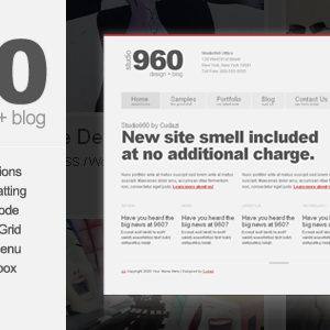 Studio960 – HTML/CSS Template – by Cudazi