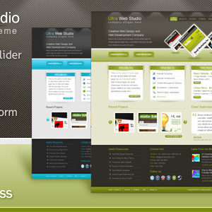 Ultra Web Studio – HTML Template – by Softwebmedia