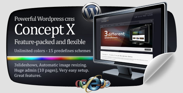 Concept X – Powerfull WordPress theme – by Phi