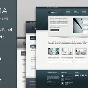 Karma – Clean and Modern WordPress Theme – by TrueThemes