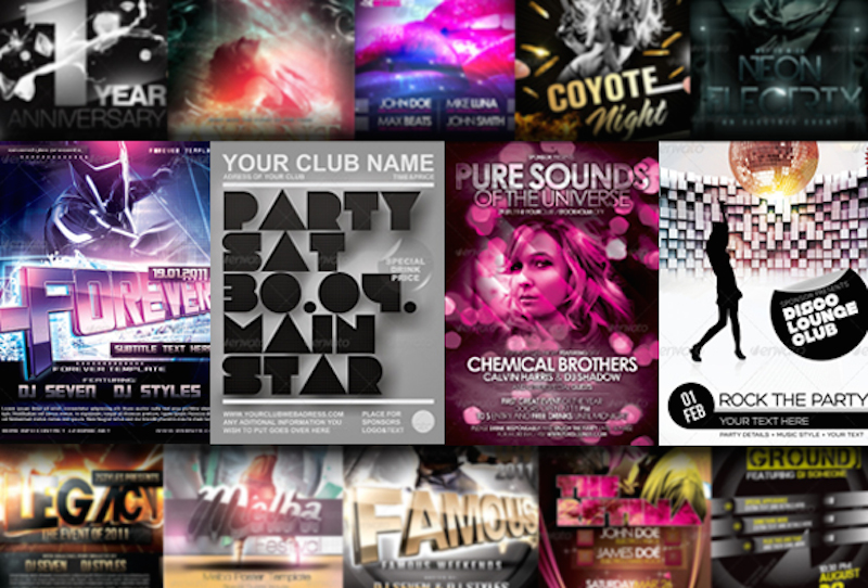 23 Crazy Cool Concert Flyer and Poster Templates
