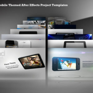 14 Mobile Themed After Effects Project Templates