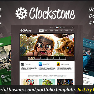 Clockstone – Ultimate Website Template – by cmsmasters