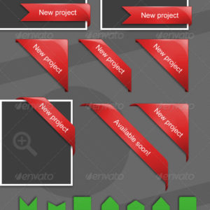 80 Premium Web Ribbons – by InventGroup