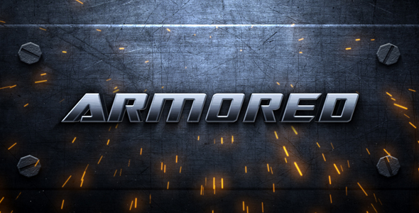 Armored Intro – After Effects Template – by addict_fx