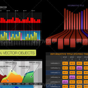 9 Advanced Infographic Charts and Templates