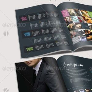 Brochure – Catalogue InDesign Template – by aRtlessX