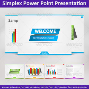 Simplex Power Point Presentation – by DrawZen