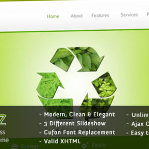 ECOBIZ – Modern Business WordPress Theme – by imediapixel
