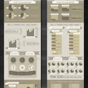 Mix and Match Infographic Templates .PSD