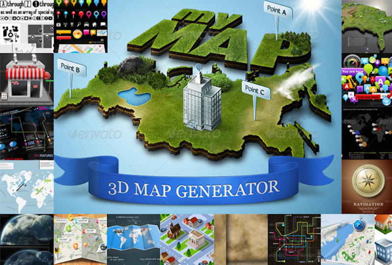 21 create your own map - elements and templates