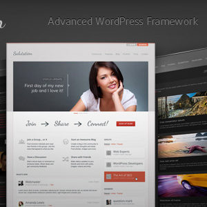 Salutation: WordPress + BuddyPress Theme