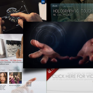 10 Interface Touch Gesture After Effects Templates