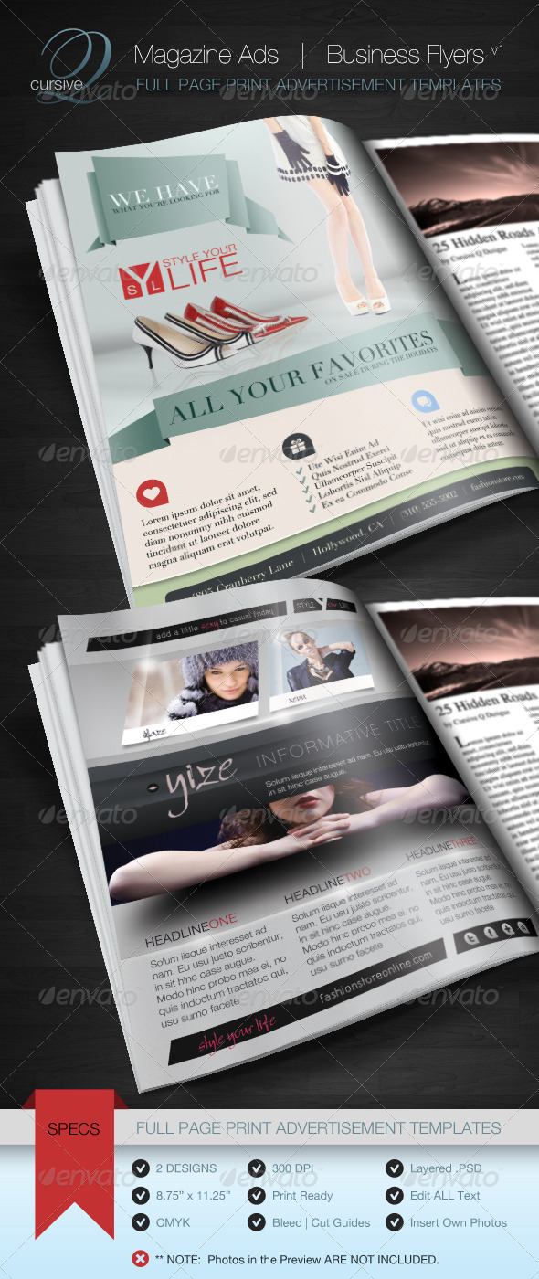 Magazine Ad | Business Flyer V1