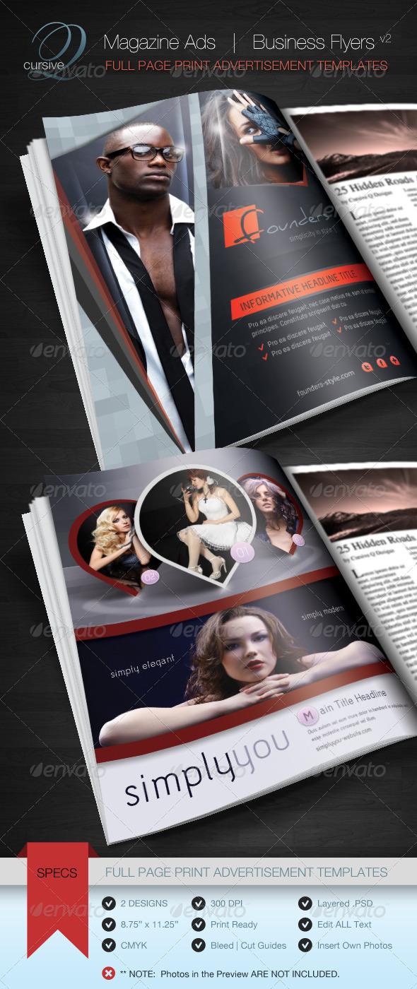 Magazine Ad | Business Flyer V2
