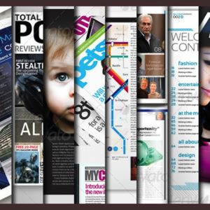 10 Full Magazine Layout Templates for InDesign and Photoshop
