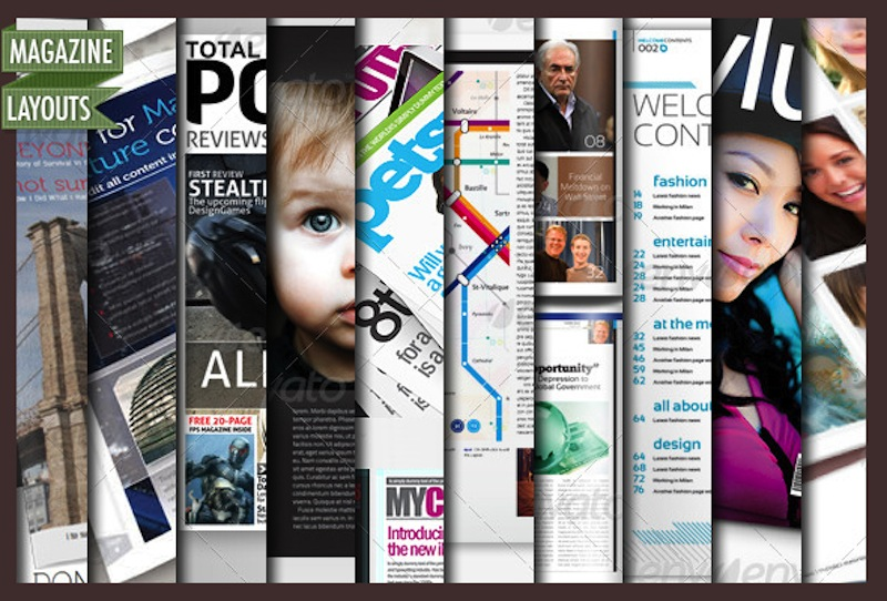 Full Magazine Layout Templates For InDesign And Photoshop