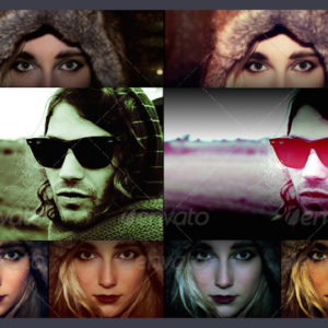 300+ Photoshop Photo Effects Templates