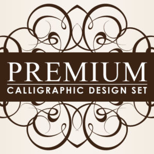Premium Calligraphic Design Set