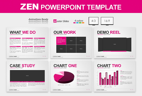 Zen Powerpoint Template