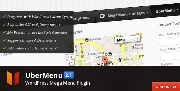 UberMenu – WordPress Mega Menu Plugin