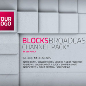 Blocks – Broadcast channel pack