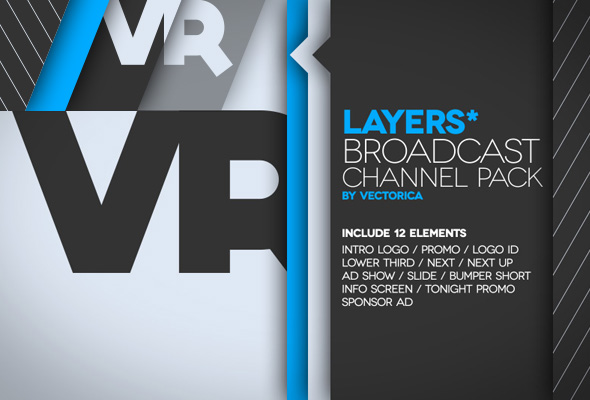 Layers Broadcast Channel Pack