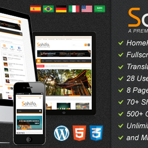 Sahifa – Responsive WordPress News, Magazine, Blog