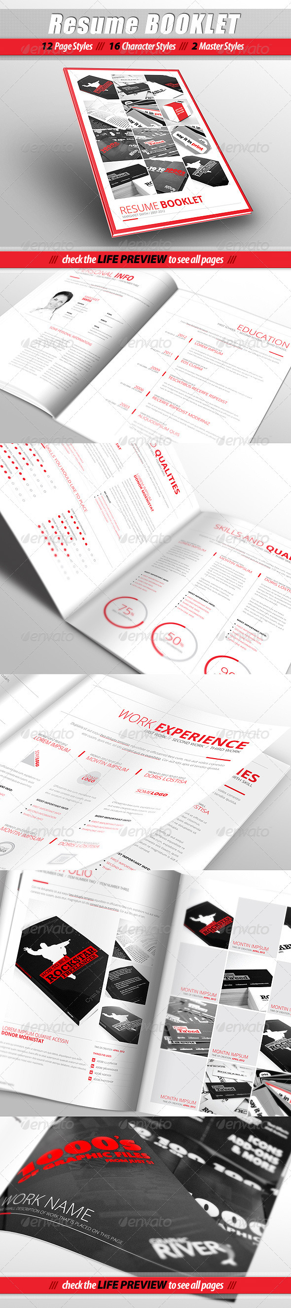 15 Simple and Advanced Resume / CV Templates - Best Designers