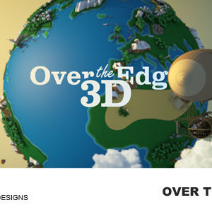 Over The Edge – 3D – After Effects Template
