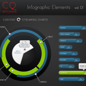 CQ Infographic Elements vol. 1