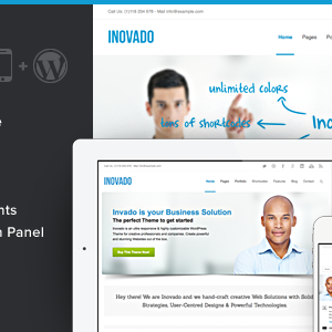 Inovado – Retina Responsive Multi-Purpose Theme