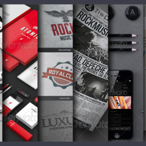175+ Stationary, Branding and Print Material Mockups