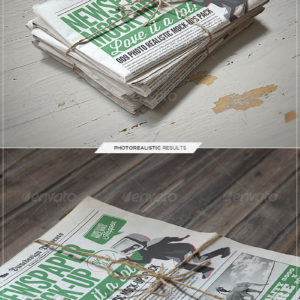 Newspaper / Newsletter Mock-Up – 2