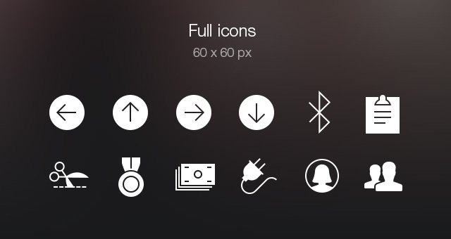 Tab Bar Icons iOS 7 Vol5-5