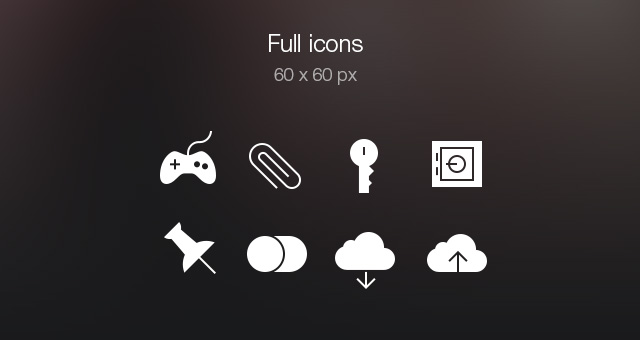 Tab Bar Icons iOS 7 Vol5-7