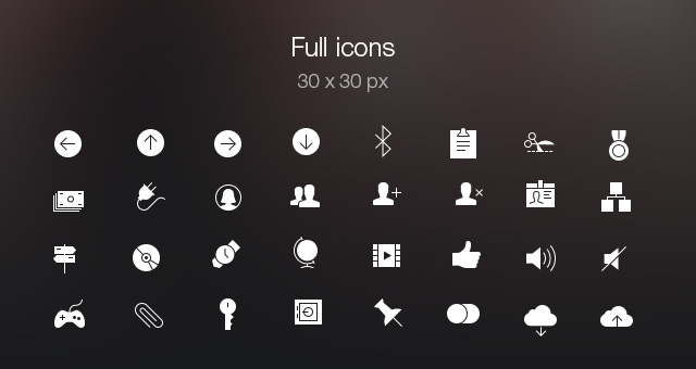 Tab Bar Icons iOS 7 Vol5-8