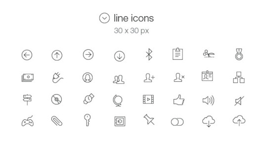 Free – Tab Bar Icons iOS 7 Vol5