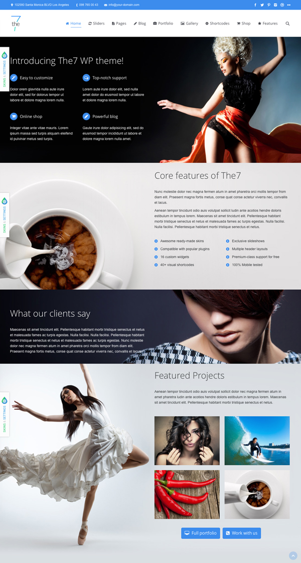 The7 Responsive-Multi-Purpose-WordPress-Theme