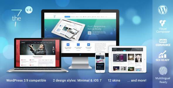 The7 Responsive Multi-Purpose WordPress Theme