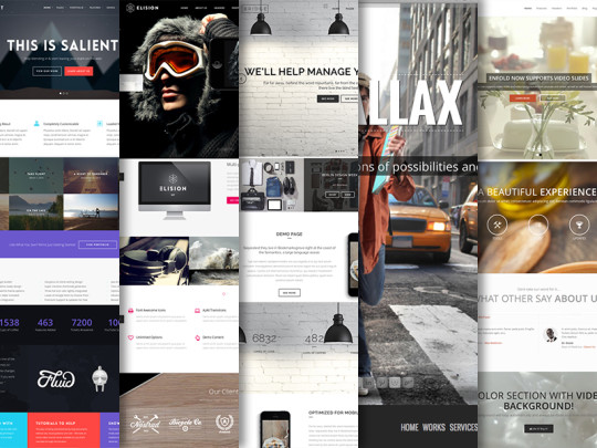 10 Best WordPress Themes Using the Parallax Effect