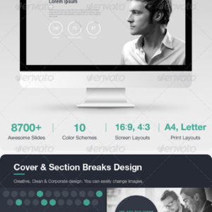 Awesome Slides – Powerpoint Template