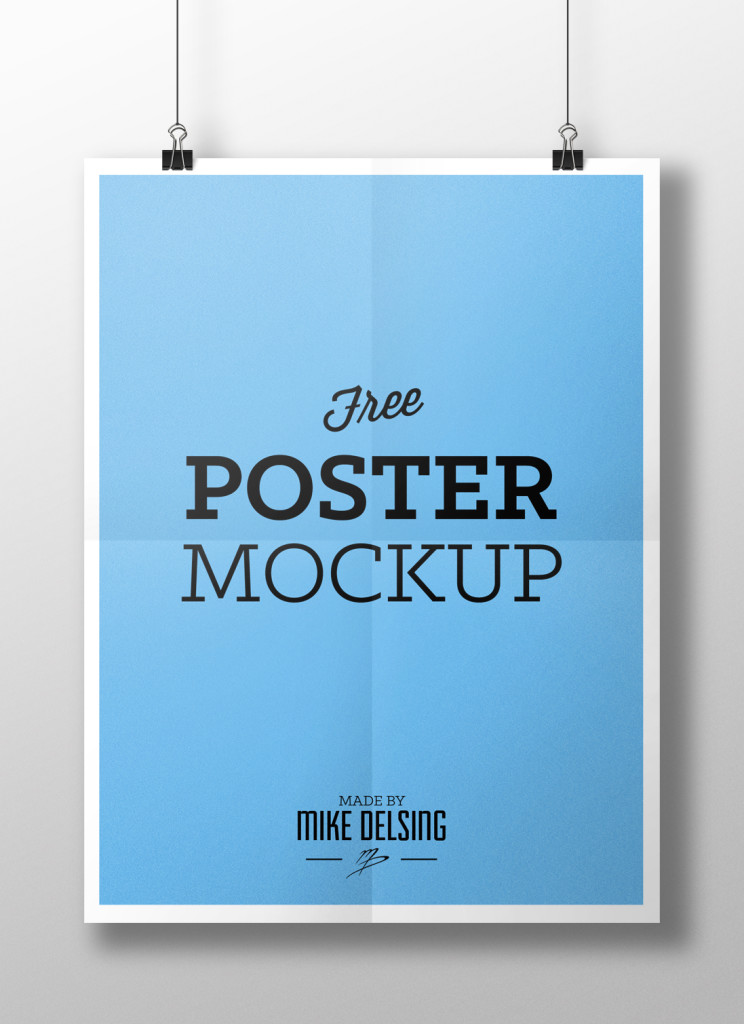 Best font size for posters