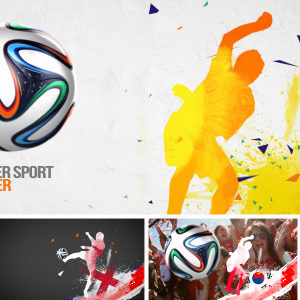 Soccer Sport Opener – After Effects Template