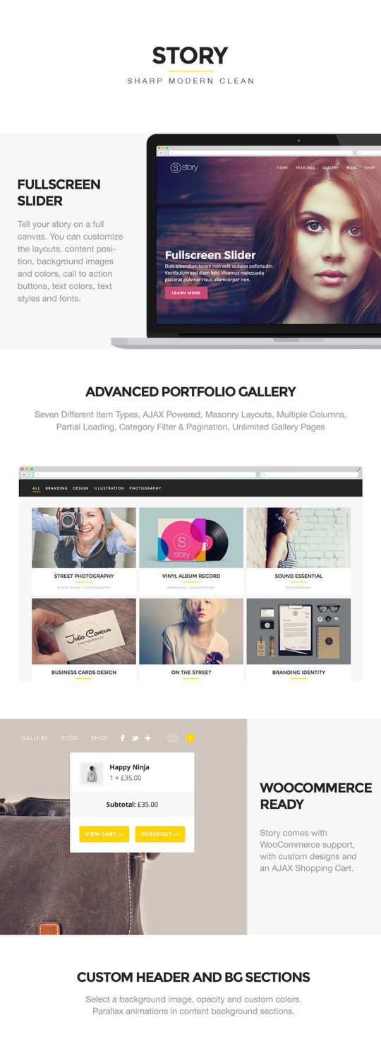 Story – Creative Responsive Multi-Purpose Theme