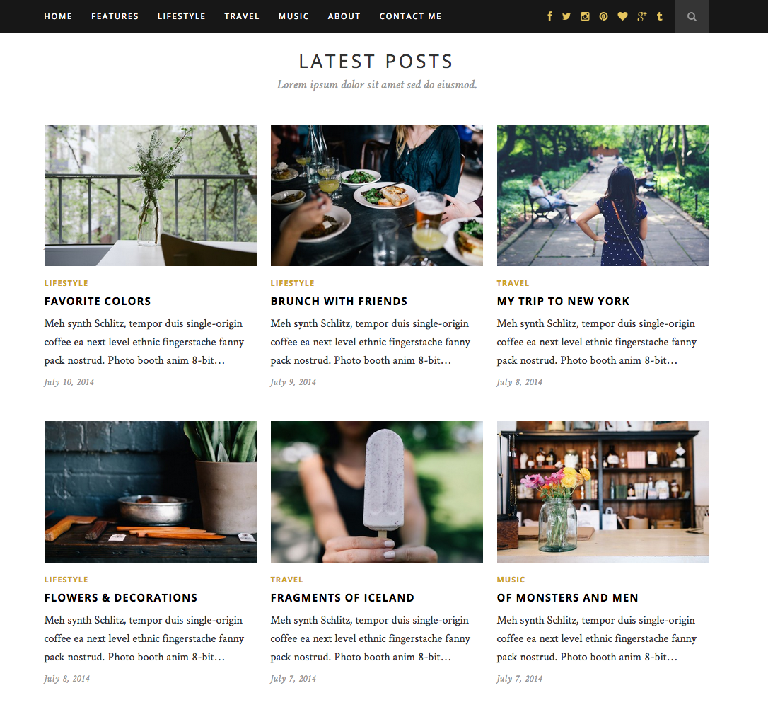Hemlock - A Responsive WordPress Blog Theme2
