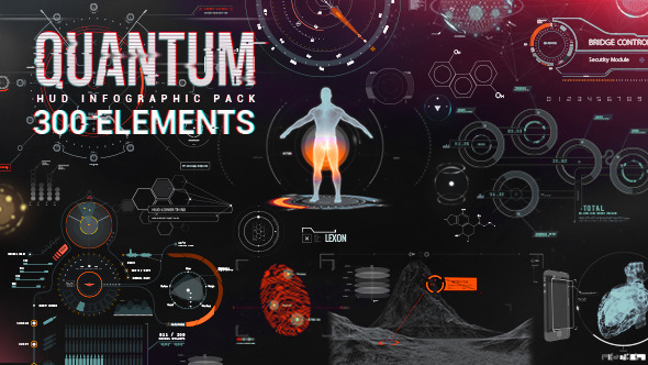 Quantum HUD Infographic – After Effects Template