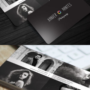 QuadPix – Photographer Business Card – Photoshop PSD Template